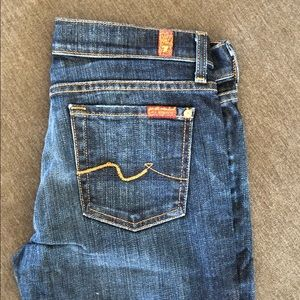 7 for all mankind bootcut jeans (NWOT)